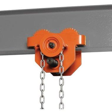 Manuele loopkat met ketting 5t 434,5x373x296,5mm