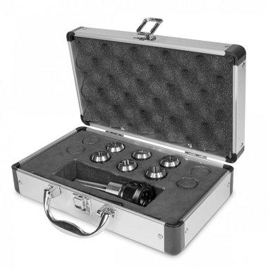 Koffer- und Spannzangenhalter inkl. Spannzangen