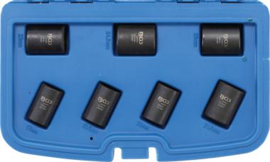 Spezial-Steckschlüssel-Einsatz-Satz / Schraubenausdreher 12,5 mm (1/2) SW 17 - 26 mm 7-tlg