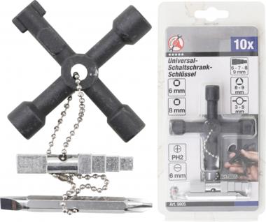 Universal-Schaltschrank-Schlüssel