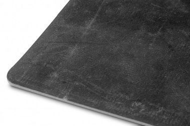 Flachgummi auf Rolle 10 m schwarz