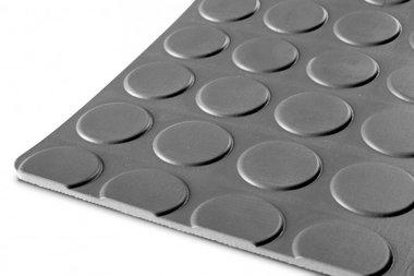 Gummi auf Rolle 10mx1200mmx3mm Nopp grau