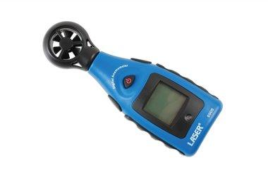 Anemometer und Temperaturmessgerät