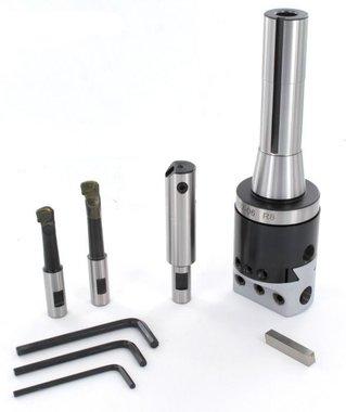 Fräskopf-Set R8 Durchmesser 10 - 110 mm