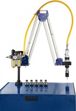 Pneumatischer Gewindebohrerarm M10 - M20 Arbeitsbereich 500 - 1600mm