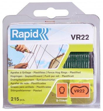 Schnellheftung VR22 grün beschichtet 215 Stück
