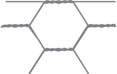 Sechseckiges Netz Avigal 25x0,8 50 cm x 25 m