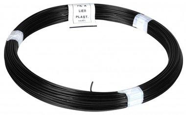 Garn PVC schwarz 100 m 1,4/2,0 mm