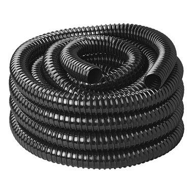 Abfallwasserschlauch schwarz 10M / 25mm