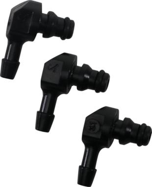 Kunststoff-Steckverbinder-Set L-Form 30-stellig