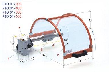 Schutzkappe für Spannfutter 400mm