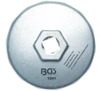 Oliefilter dop 74 mm x P14