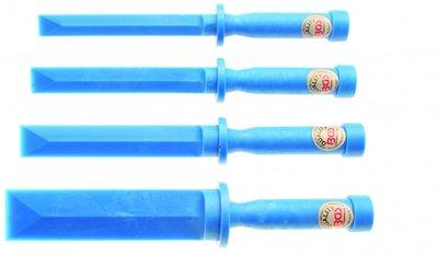 Kunststoff-Schaber-Satz 19 - 22 - 25 - 38 mm breit 4-tlg