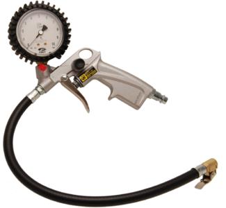 Druckluft-Reifenfüllpistole geeicht 0 - 10 bar