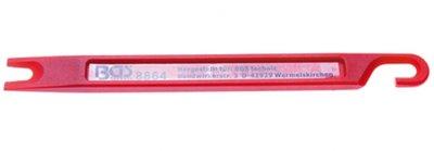 Bremsleitungs-Schaber   160 x 14 x 6 mm