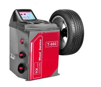 Auswuchtmaschine Digital mit Radschutzbogen