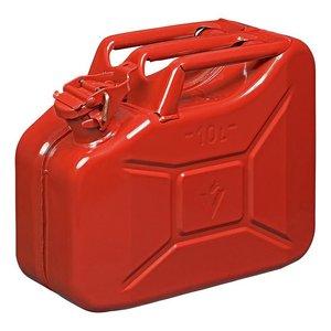 Benzinkanister 10L metall rot UN- & TüV/GS-geprüft