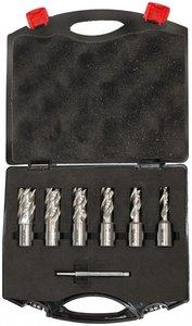 Set Kernbohrer 6-teilig 12 - 22mm