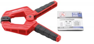 Leimzwinge 115 mm
