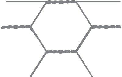 Sechseckiges Netz Avigal 13x0,7 150 cm x 25 m